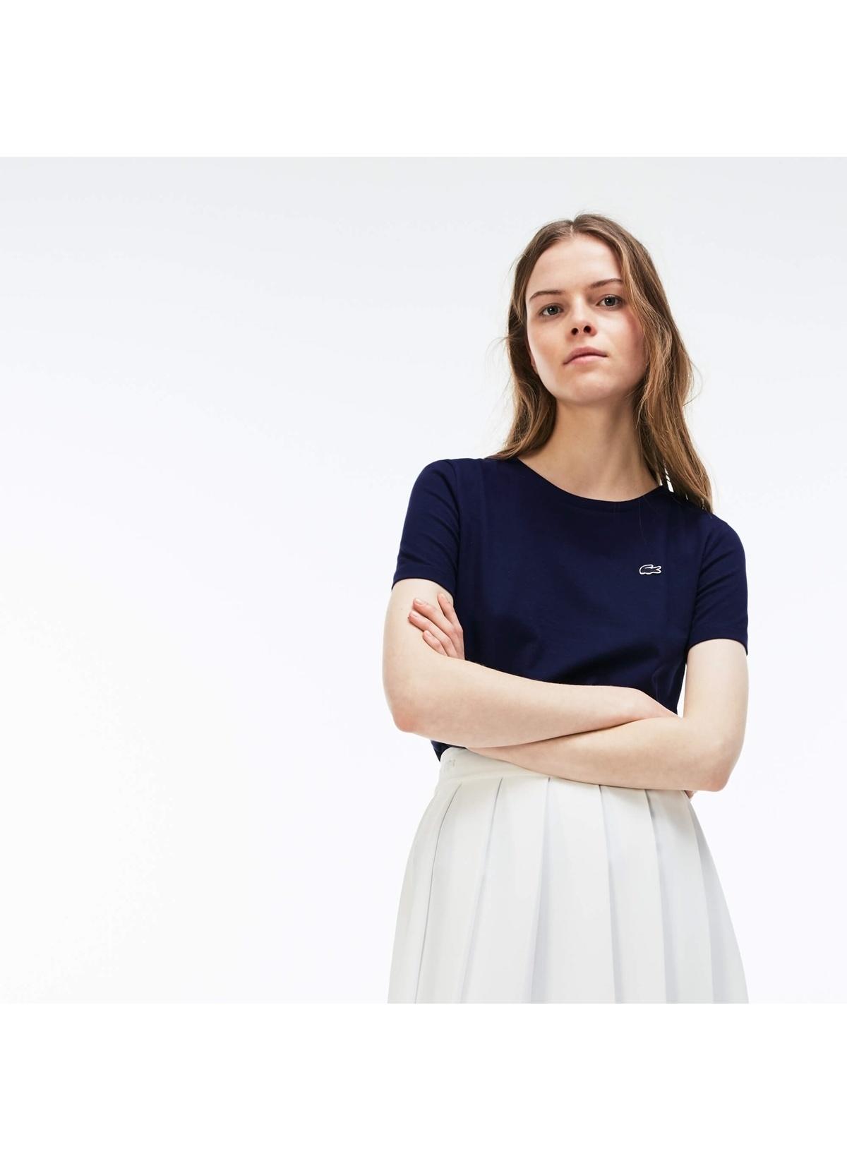 Lacoste Tişört Tf3080 Kadın T-shirt – 229.0 TL